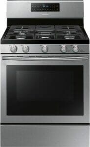 1) Samsung NX58H5600SS 30 Gas Range: