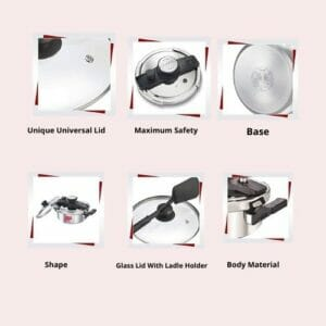 Features of cooker