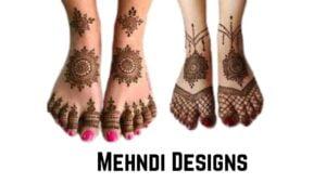 Foot Mehndi Designs:
