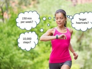 How much exercise do I need?