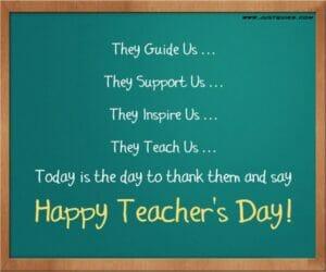 Speech | Teacher's Day Wishes