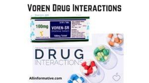 Voren Drug Interactions