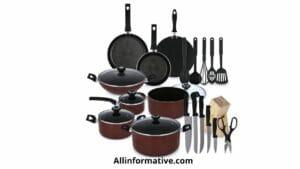 Cookware set Kitchen Essentials List