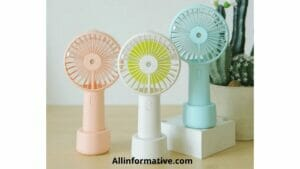 Portable Rechargeable Fan