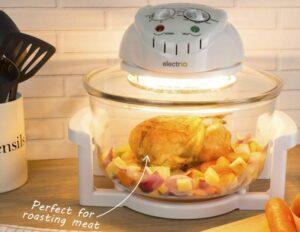 Electric 12L 1300W Halogen Cooker