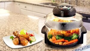 Cook Meals up to 3 Times Faster Than Standard Oven
