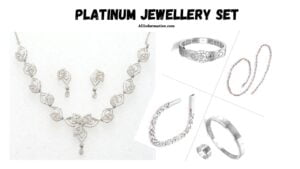 Platinum Jewellery Set