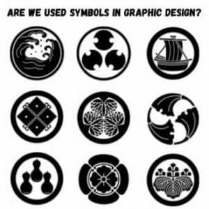 Are We used Symbols in Graphic Design?