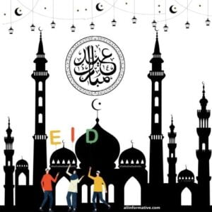 Eid Mubarak's greeting