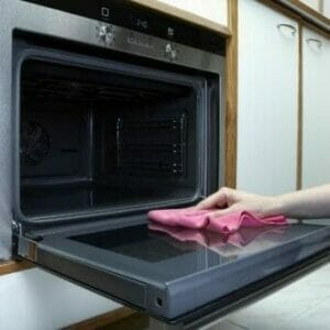 Double Oven with Self Cleaning