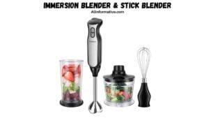 Immersion Blender & Stick Blender