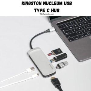 4. Kingston Nucleum USB Type C Hub