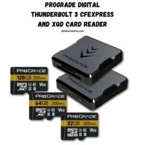 5. Prograde Digital Thunderbolt 3 CFexpress and XQD Card Reader