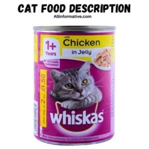 Cat Food Description