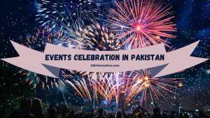 Events Celebration In Pakistan