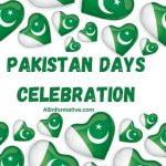 Pakistan Days Celebration