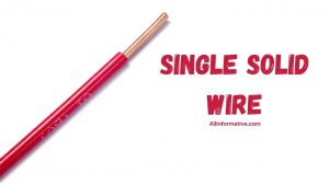 Single Solid Wire